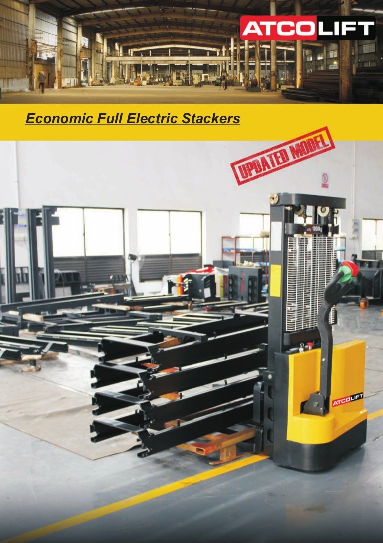 Scope of use and types of stackers