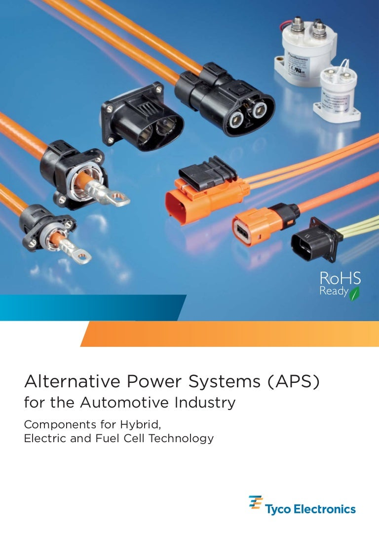 Automotive High Voltage Products Wiring Connectors