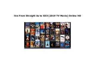 watch From Straight As to XXX (2019 TV Movie) Full'M.o.v.i.e'Free*