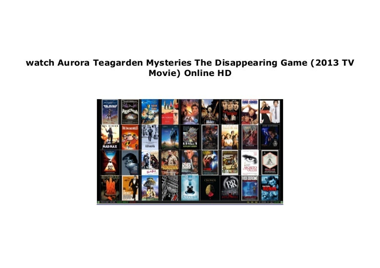 aurora teagarden the disappearing game full movie online free