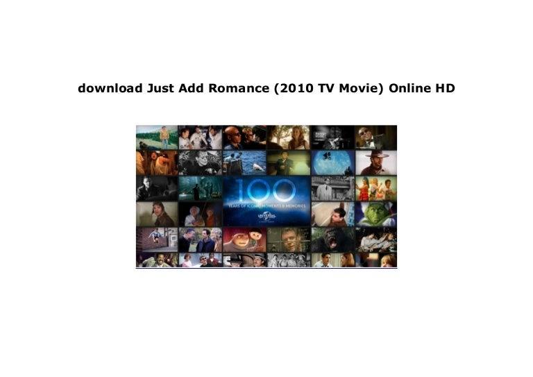 watch just add romance free online