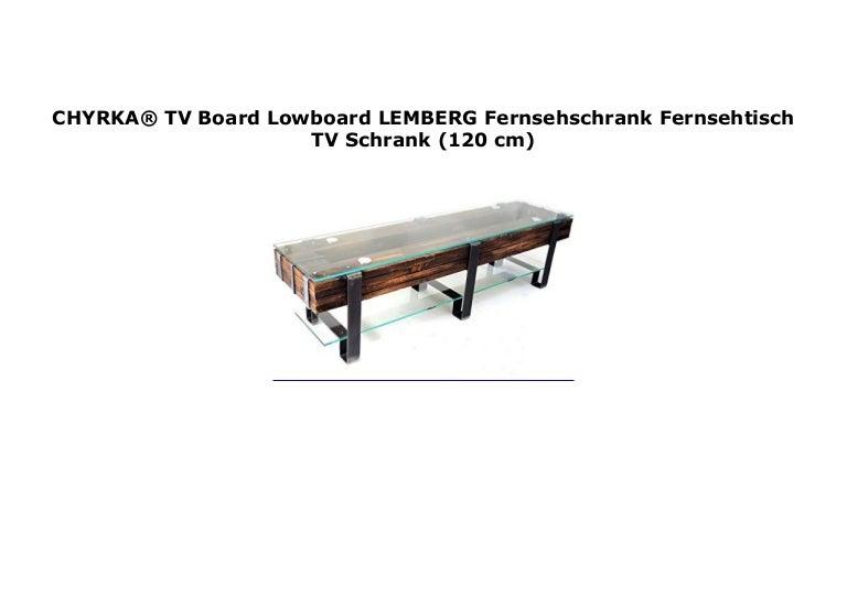 TV Schrank Lowboard Mit Rollen Fernsehschrank Fernsehtisch TV Board Industrie ❤