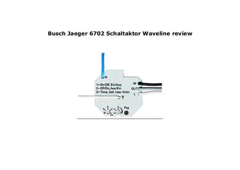 Busch-Jaeger 6702 Schaltaktor Waveline