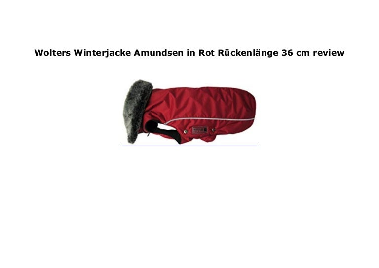 Rot Amundsen Nge Wolters 36 Winterjacke Review Ckenl In Cm R EWD2IH9