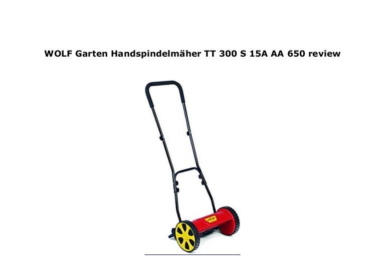 WOLF-Garten Handspindelmäher TT 300 S; 15A-AA--650