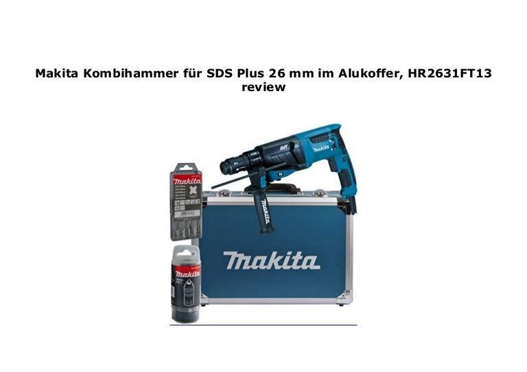 HR2631FT13 Makita Kombihammer für SDS-Plus 26 mm im Alukoffer