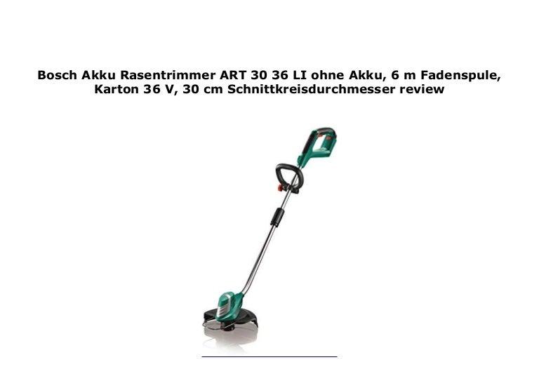 Ersatzspule mit Faden 6 m für Bosch Rasentrimmer ART 30-36 LI