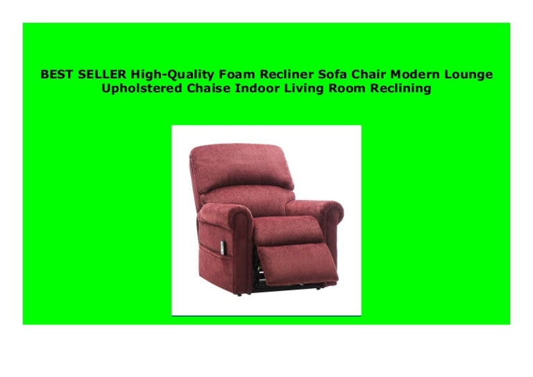 Best Price High Quality Foam Recliner Sofa Chair Modern Lounge Uphol