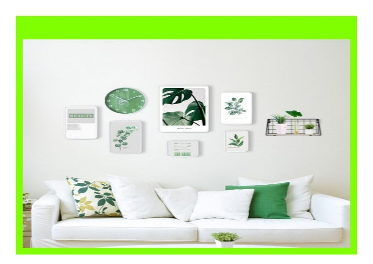 Best Seller Photo Wall Frame Clocks Living Room Modern Minimalistic