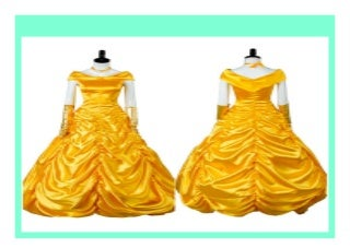 NEW Adult Beauty and the Beast Belle Dress Cosplay Costume Halloween Carnival Party Costumes