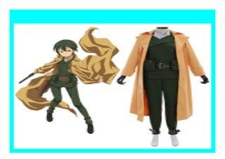 Big Sale Anime the Beautiful World Kinos Journey Kino Cosplay Costume Adult Men Halloween Costume Trench Jac