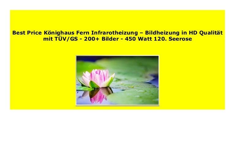 K/önighaus Fern Infrarotheizung 200+ Bilder 113. Adler USA Bildheizung in HD Qualit/ät mit T/ÜV//GS 1000 Watt