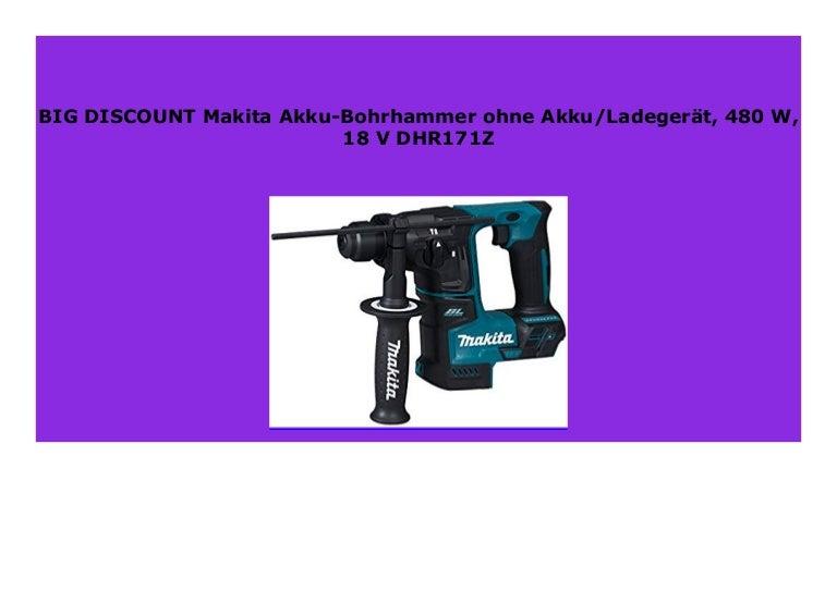 Akku Bohrhammer 18 V Makita DHR171Z
