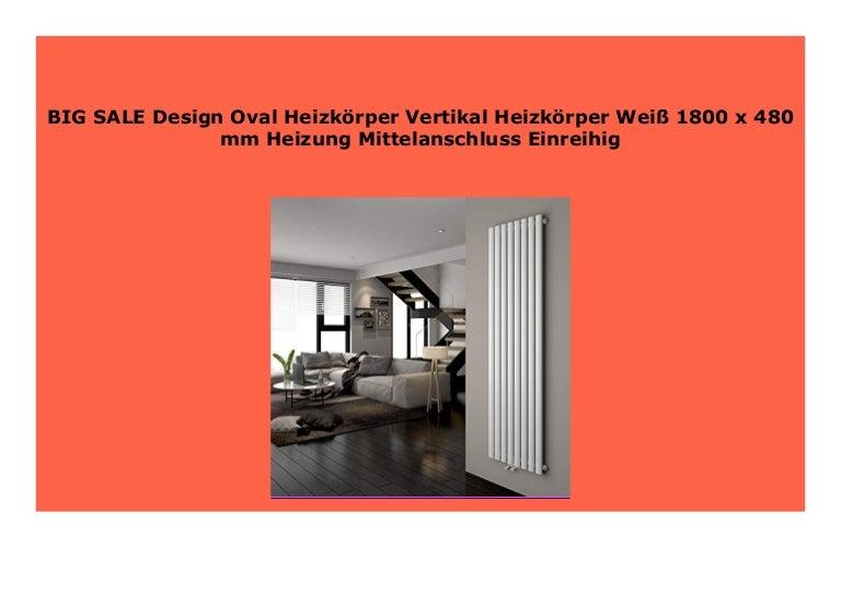 Design Flach Heizk/örper Badheizk/örper 1800x304mm Antrazit Paneelheizk/örper Wohnraumheizk/örper Plattenheizk/örper Mittelanschluss Doppellagig 981Watt