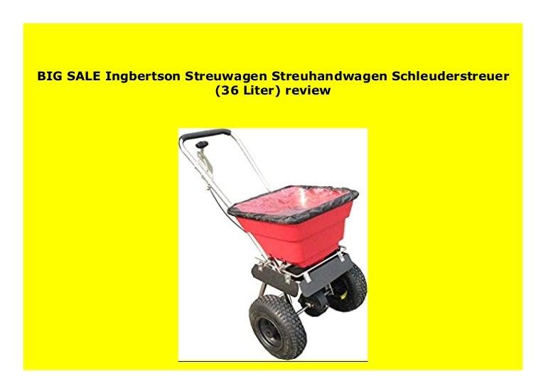 Big Sale Ingbertson Streuwagen Streuhandwagen