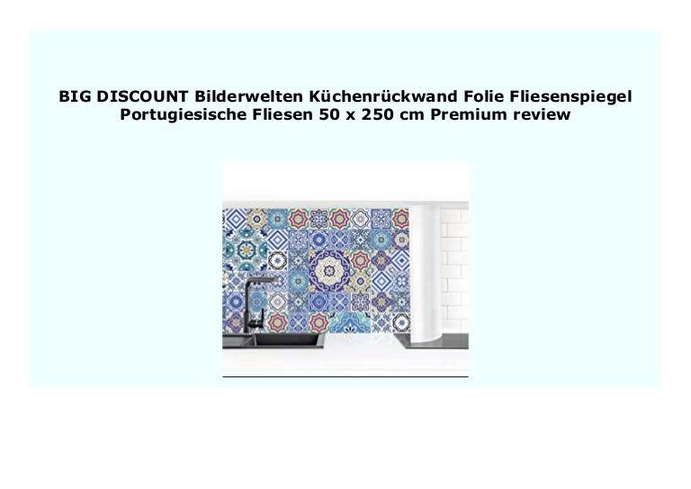 New Bilderwelten K Chenr Ckwand Folie Fliesenspiegel Portugiesische F