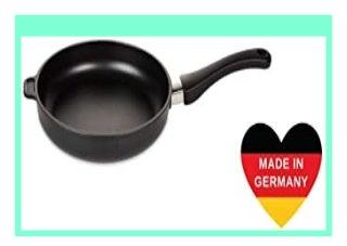 SELL Lieblingspfanne Bratpfanne flach 32cm H�he 5cm Aluminium Guss Antihaft Beschichtung Induktion handgegossen in Deutschland review 251