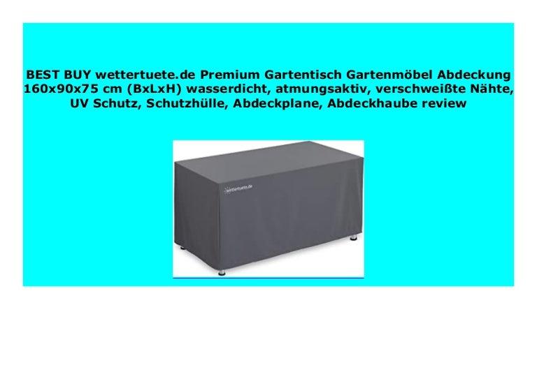 Schutzhülle Abdeckung Sitzgruppe Gartenmöbel Gartentisch Garnitur Abdeckhaube DE