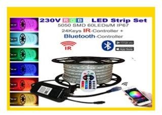 NEW 15 Meter H H Leipzig 230V 5050 SMD 60LEDs/M IP67 Mehrfarbig RGB LED Strip Streifen Lichtband Lichtleiste Lichtschlauch mit Bluetooth Infrarot Netzteil Controller Fernbedienung review 449
