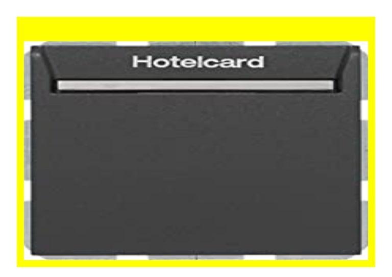 Best Price Hager Visitenkartenetui Hotel