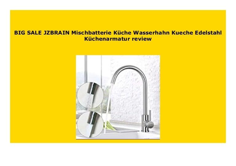Best Price JZBRAIN Mischbatterie K che Wasserhahn Kueche ...