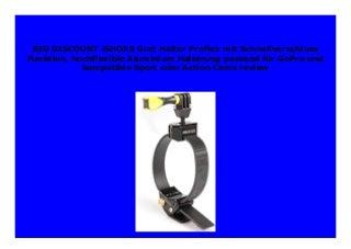 BIG SALE iSHOXS Gurt Halter Proflex mit Schnellverschluss Funktion, hochflexible Aluminium Halterung passend f�r GoPro und kompatible Sport oder Action Cams review 893