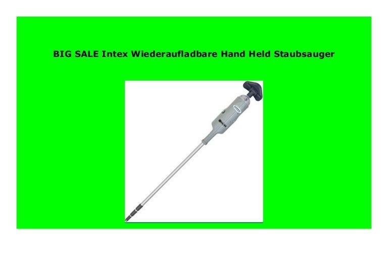 Intex Wiederaufladbare Hand Held Staubsauger