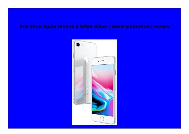 iphone 8 generalüberholt