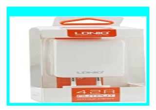 HOT SALE Ldnio� Packung 10 Blusens SMART BEAUTY Wei� 4.2 Amp 4 USB Quad Port EU Mains 2 Pin Schnell Wall Charger Power Adapter Plug review 893