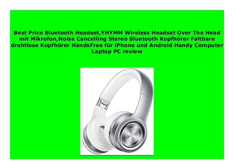 Discount Bluetooth Headset Yhymm Wireless Headset Over The Head Mit M