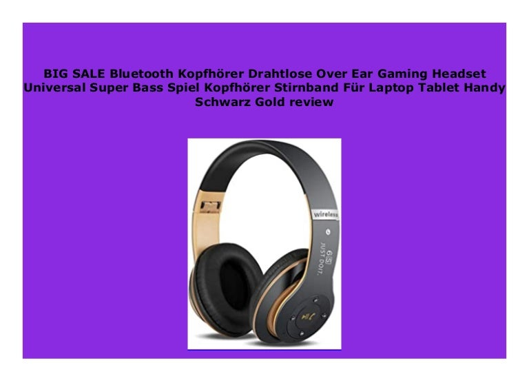 Best Buy Bluetooth Kopfh Rer Drahtlose Over Ear Gaming Headset Univer