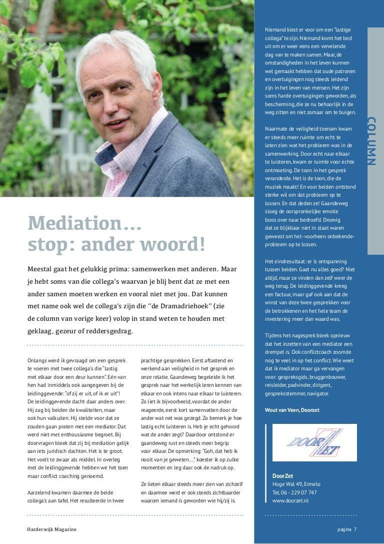 Mediation  stop ander woord