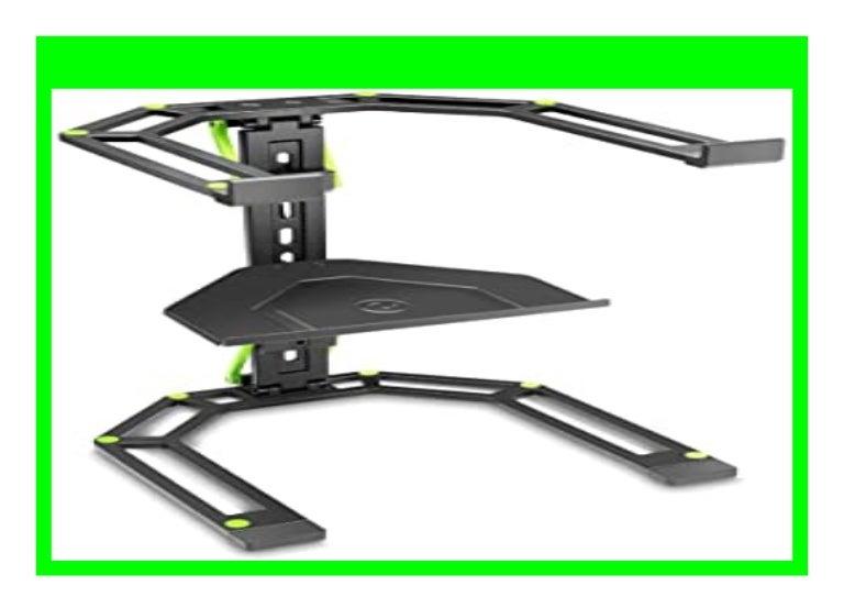 Gravity GLTS01B Verstellbarer St/änder f/ür Laptops und Controller