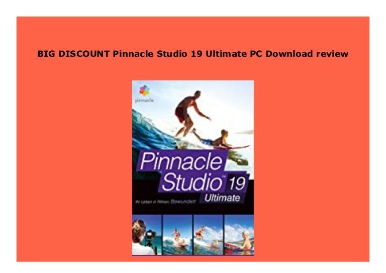 Pinnacle Studio 19 Ultimate For Sale