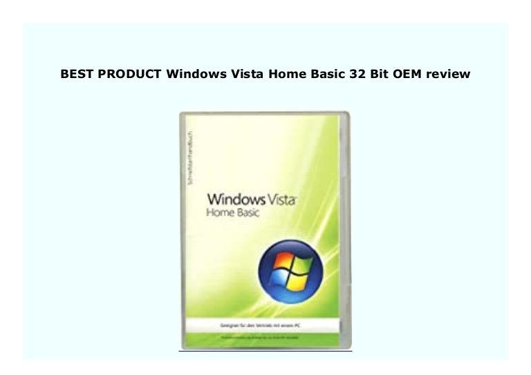 Buy Oem Windows Vista Home Basic