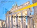 EY Human Capital Conference 2012: Keeping up with global mobility technology trends
