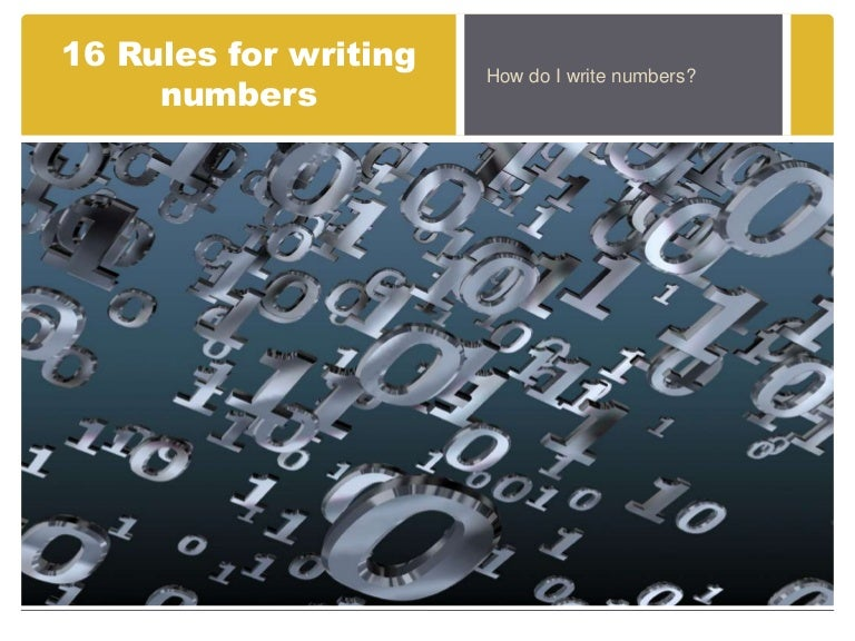 do you spell out numbers in research papers Number and numeral writing tips  there is often confusion as to when to spell out numbers and when to use numerals  [research papers].