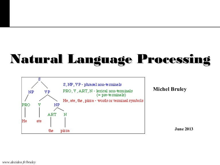 how to learn natural language processing