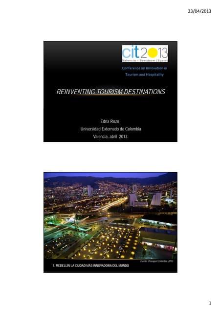 Reinventing Tourism Destinations - Edna Rozo