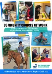 Community Choices Network Brochure - New Directions (Rugby) Ltd.