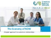 The Economy of NOW - a digital approach to customer relationships