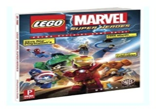 LEGO Marvel Super Heroes Prima Official Game Guide Prima Official Game Guides book 235