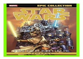 Star Wars Legends Epic Collection The Old Republic Volume 1 book 659