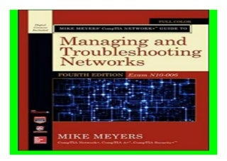 Mike Meyers� CompTIA Network+ Guide to Managing and Troubleshooting Networks, Fourth Edition Exam N10-006 Mike Meyers039 Computer Skills book 343