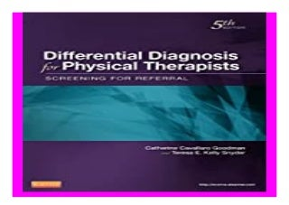 'physical therapy' on SlideShare