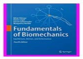 Fundamentals of Biomechanics  Equilibrium, Motion, and Deformation book 187
