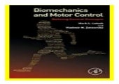 Biomechanics and Motor Control  Defining Central Concepts book 879