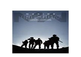 Making Call of Duty Modern Warfare PDF
