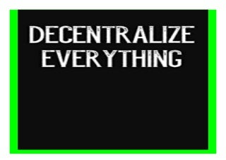 Decentralize Everything Lined Journal Notebook for Cryptography, Bitcoin, Blockchain book 615