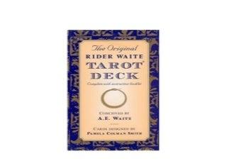 The Original Rider Waite Tarot Deck Nice